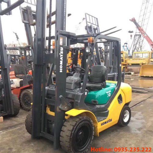 Xe nâng dầu Komatsu cũ 3 tấn 2014