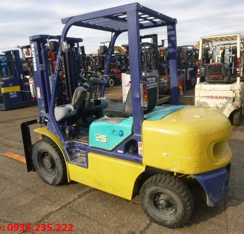 Xe nâng dầu Komatsu cũ 2.5 tấn 1999