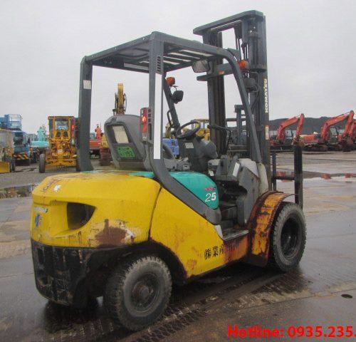 Xe nâng dầu Komatsu cũ 2.5 tấn 2006