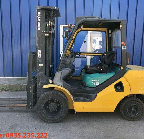 Xe nâng dầu Komatsu cũ 3.5 tấn 2008