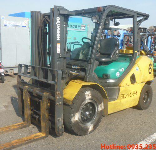 Xe nâng dầu Komatsu cũ 4 tấn 2009