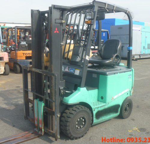 Xe nâng điện Mitsubishi cũ 1.5 tấn 2011