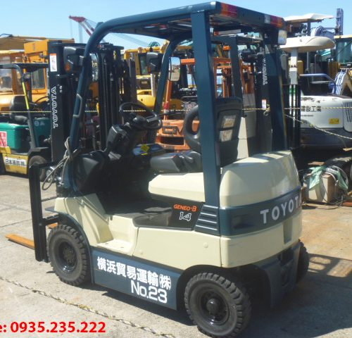 Xe nâng điện Toyota cũ 1.4 tấn 2007