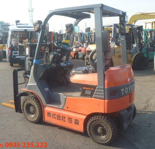 Xe nâng điện Toyota cũ 1 tấn 2011