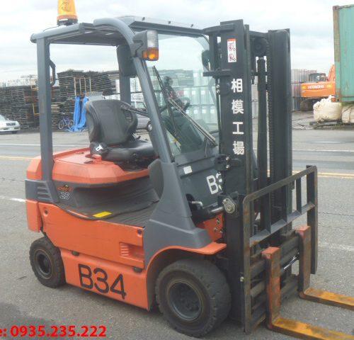 Xe nâng điện Toyota cũ 2.5 tấn 2011