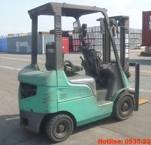 Xe nâng dầu Mitsubishi cũ 1.5 tấn 2007