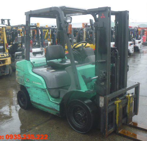 Xe nâng dầu Mitsubishi cũ 2.5 tấn 2003