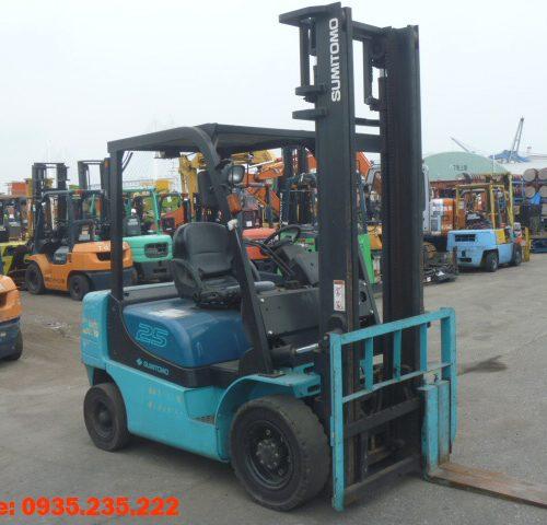 Xe nâng dầu Sumitomo cũ 2.5 tấn 2006