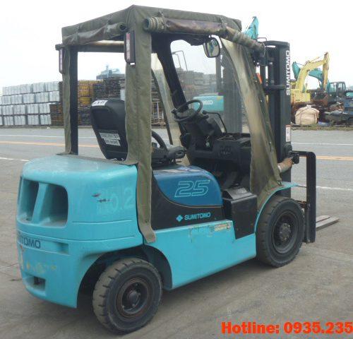 Xe nâng dầu Sumitomo cũ 2.5 tấn 2010