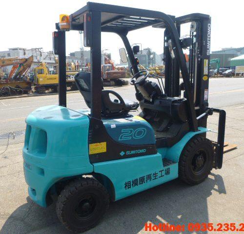 Xe nâng dầu Sumitomo cũ 2 tấn 2012