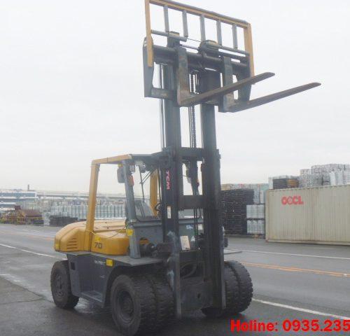 Xe nâng dầu TCM cũ 7 tấn 2007