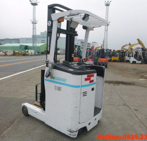 Xe nâng điện đứng lái UniCarriers cũ 1.5 tấn 2014