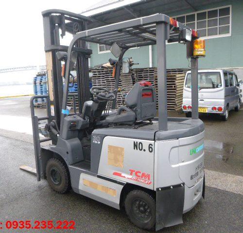 Xe nâng điện TCM cũ 2 tấn 2007