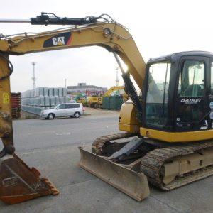 Máy xúc đào CAT 308D cũ 2012