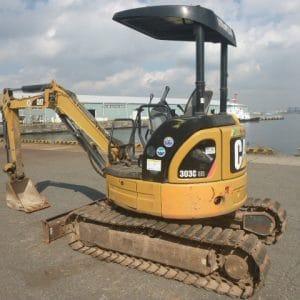 Máy xúc đào mini CAT 303C cũ 2012